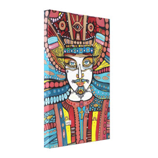 Jesus King of Kings Canvas Print