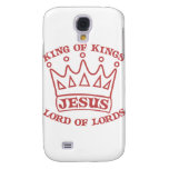 JESUS king of kings salmon Samsung Galaxy S4 Covers