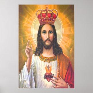 Jesus King Vintage poster