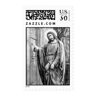 Jesus Knocking at the Door - Med Postage