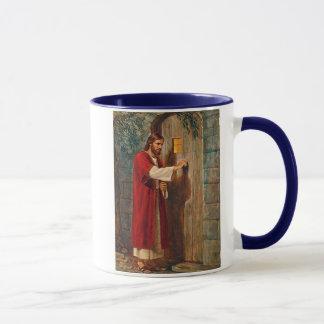 Jesus Knocks On The Door Mug