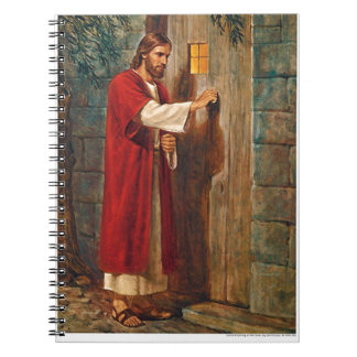 Jesus knocks On The Door Notebook