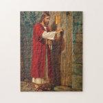 Jesus knocks On The Door Puzzles