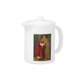 Jesus knocks On The Door Teapot
