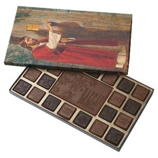 Jesus knocks On The Door 45 Piece Assorted Chocolate Box