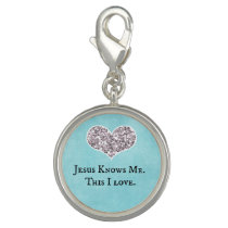 Jesus Knows Me, this I Love Quote Charm