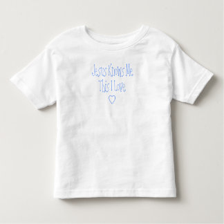 Jesus Knows Me This I Love Shirt