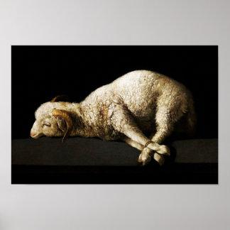 Jesus Lamb of God - Agnus Dei Poster
