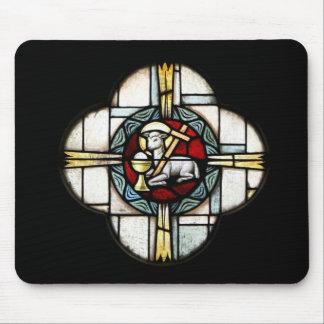 Jesus Lamb of God Mouse Pad
