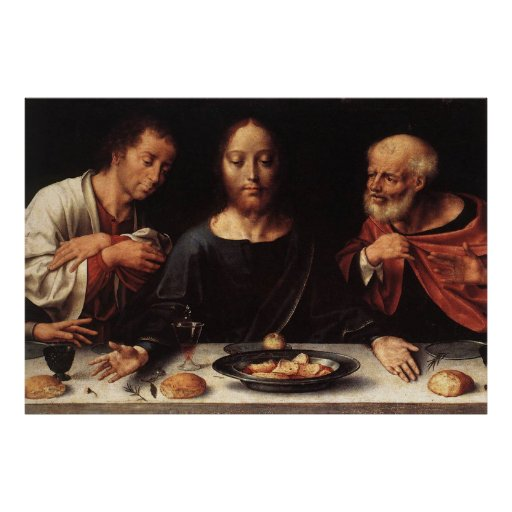 Jesus Last Supper Poster
