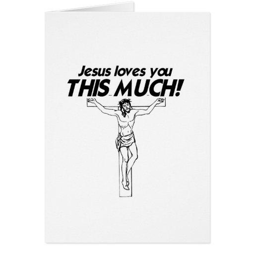 JESÚS LE AMA ESTE MUCHO - .PNG FELICITACION
