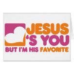 Jesús le ama felicitación