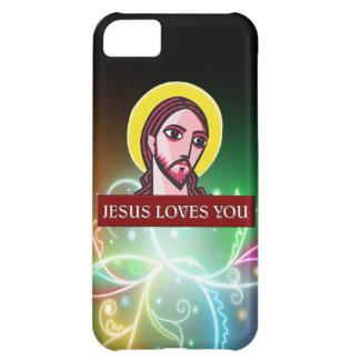 JESÚS LE AMA FUNDA PARA iPhone 5C