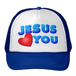 Jesús le ama gorros