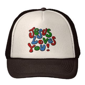 Jesús le ama gorras