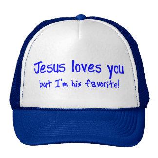 ¡Jesús le ama! Gorras