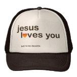 Jesús le ama gorras de camionero