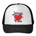 Jesús le ama gorro de camionero