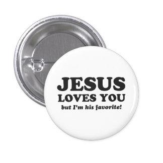 Jesús le ama pero soy su favorito