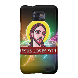 JESÚS LE AMA SAMSUNG GALAXY S2 CARCASA