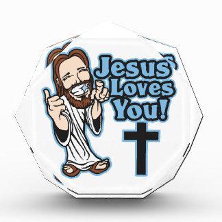 Jesús le ama