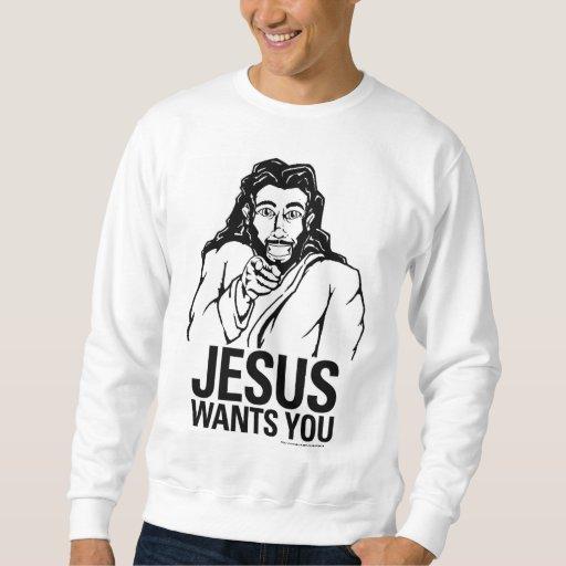 Jesús le quiere sudaderas encapuchadas
