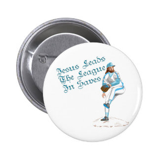 Jesus Leads The League In Saves Button