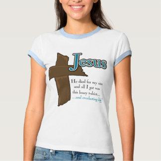 Jesus Life Everlasting T Shirt
