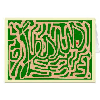 Jesus life maze card