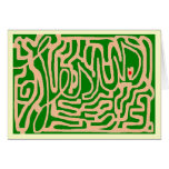 Jesus life maze greeting cards