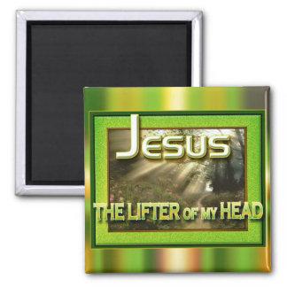 """""""Jesus - Lifter of my Head"""" by Cheryl Daniels Magnet"""