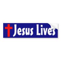 Jesus Lives Bumper Sticker