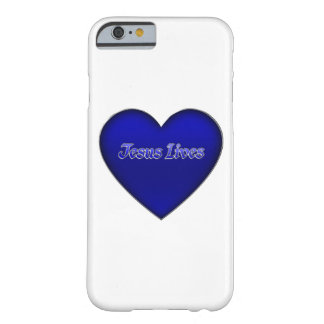 Jesus Lives Heart Christian iPhone 6 Case