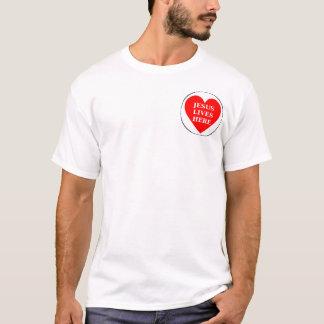 Jesus lives here T-Shirt
