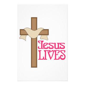 Jesus Lives Stationery