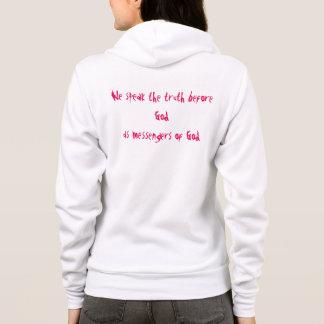 Jesus lives Women's Canvas Fleece Zip Hoodie