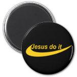 Jesús lo hace Jaune Iman De Frigorífico