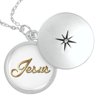JESUS LOCKET NECKLACE