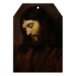 Jesus Looking Downward Card