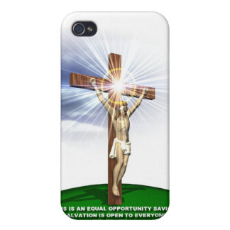 Jesus, Lord and Savour iPhone 4/4S Cases