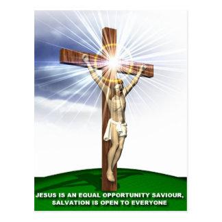 Jesus, Lord and Savour Postcard