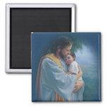 Jesus Love 2 Inch Square Magnet