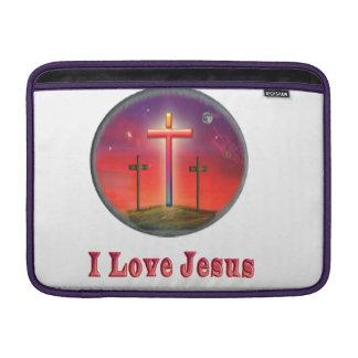Jesus love MacBook sleeve