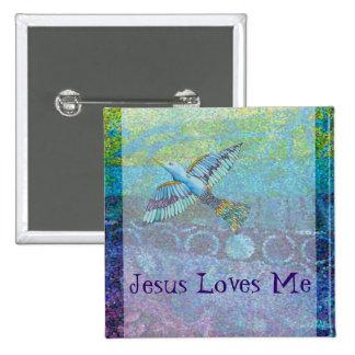 Jesus Love Me Button