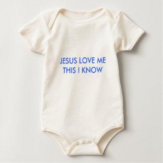 JESUS LOVE METHIS I KNOW ROMPERS