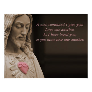 Jesus Love Poster