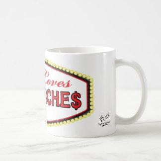 Jesus Loves Big Churches Mug