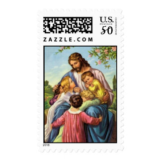 Jesus Loves Children Stamps