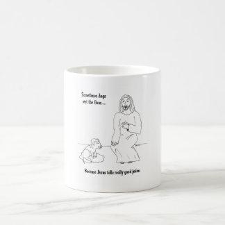 Jesus Loves Dogs Coffee Mug
