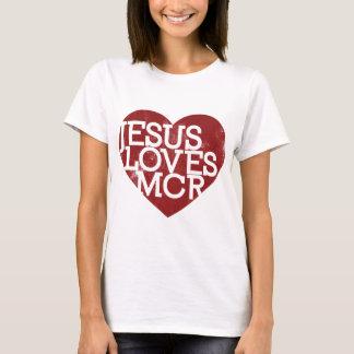 Jesus Loves MCR - Red T-Shirt